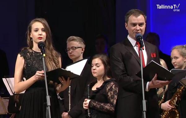 Õhtujuhid Marleen Nurm ja Kristo Elias