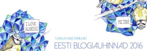 Eesti Blogiauhinnad 2016