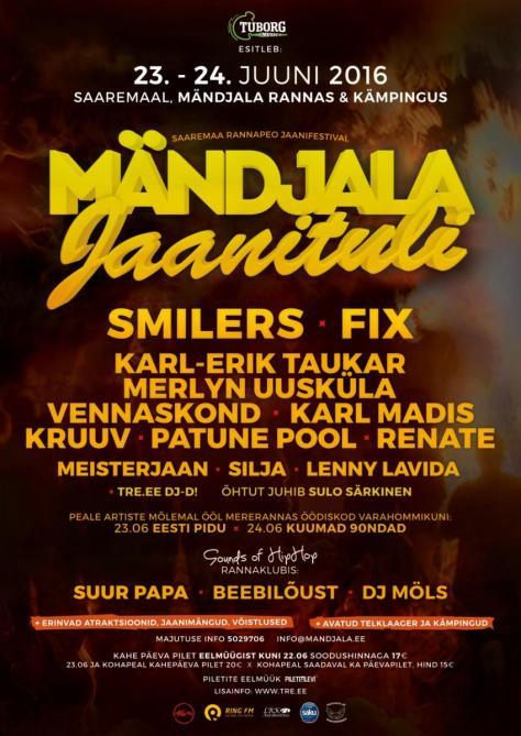 Mändjala Jaanituli 2016