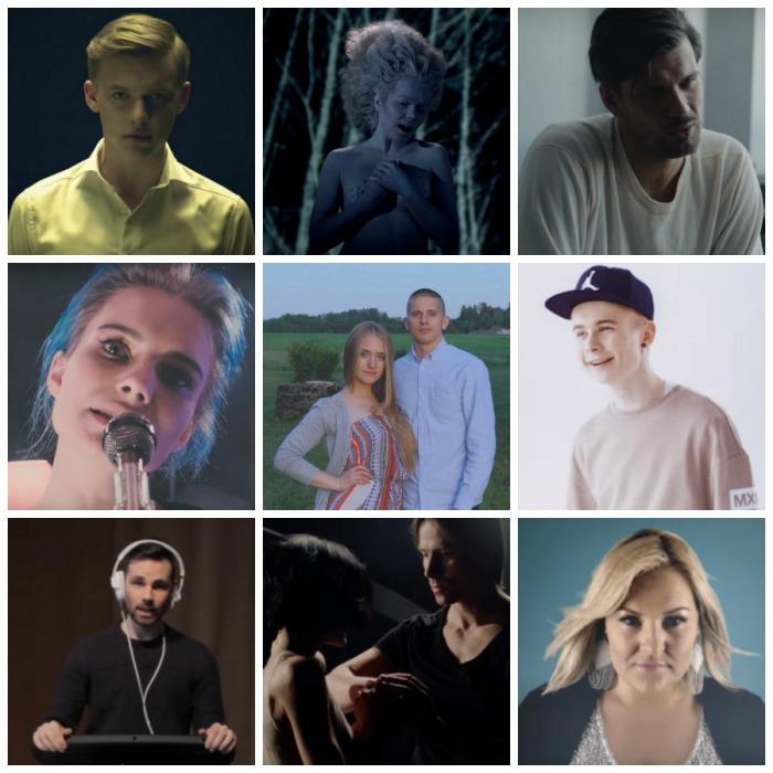 Valik 2016. aasta muusikavideosid