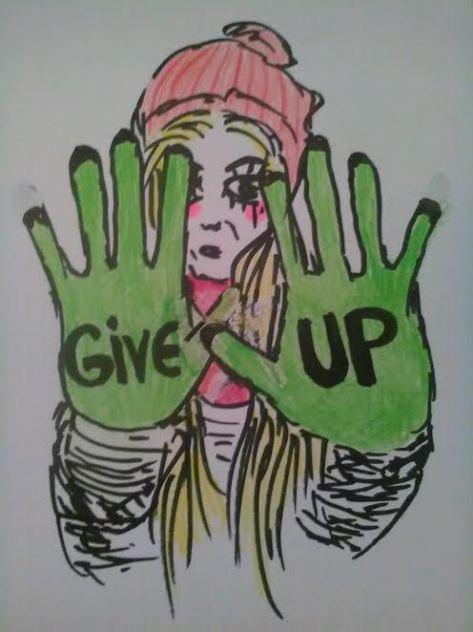 "Eliisa Kõiv ""Give Up"""