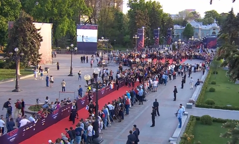 Eurovisiooni lauluvõistluse avagala punane vaip