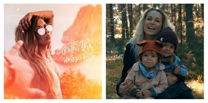 Grete Paia + Lenna Kuurmaa lastega