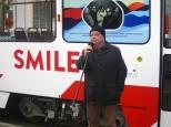 Ansambel Smilers sai omanimelise trammi