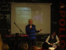 """Ivo Linna topeltplaadi """"Unustatud ja unustamatu noorus"""" esitlus"""