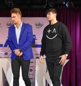 Eesti Laul 2019 pressikonverents: Uku Suviste ja STEFAN