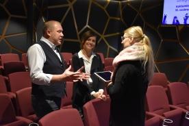 Eesti Laul 2019 pressikonverents: The Swingers intervjuud andmas